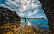 【巴厘岛】南纬8°▶巴厘海景▶悬崖▶夕阳▶礁石