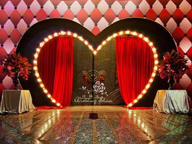 Circus创意婚礼布置