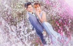 【纪绪摄影】樱花之恋-春季婚纱照客片