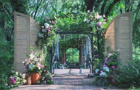 【兰亭定制】后花园的邂逅,完美爱情的开启