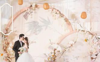 【鹿小姐婚礼中心】| 淡雅新中式云烟如梦古韵婚礼