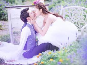 苏州左岸摄影创意婚纱照套餐《田园美学》