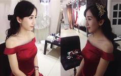 温柔的荆州MM演译了最美新娘