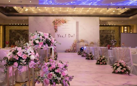 【限量】甜心主题婚礼经典粉色系高性价比含四大金刚