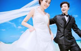 幸福时光婚纱摄影韩式套系4999婚纱照