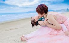 亲子写真--三亚贝拉印象婚纱摄影亲子写真
