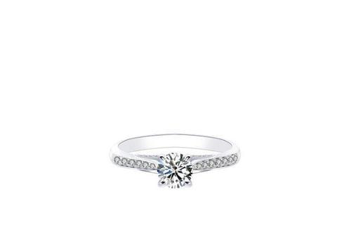 壹爱钻石订婚结婚钻戒——时尚