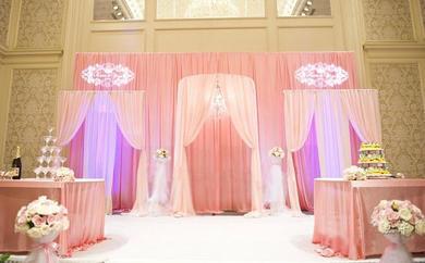 粉红甜心——主题婚礼