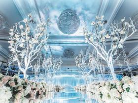 【邦比婚礼】白绿清爽大气婚礼