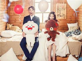 全新《布朗&可妮》韩式系列婚纱照