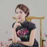 蔓夏映画-室内工笔画旗袍
