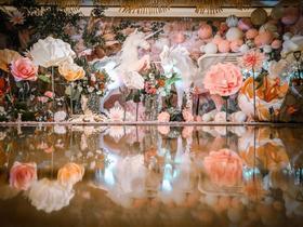 【帕舸空间宴会设计】《神秘花园》婚礼鲜花布置