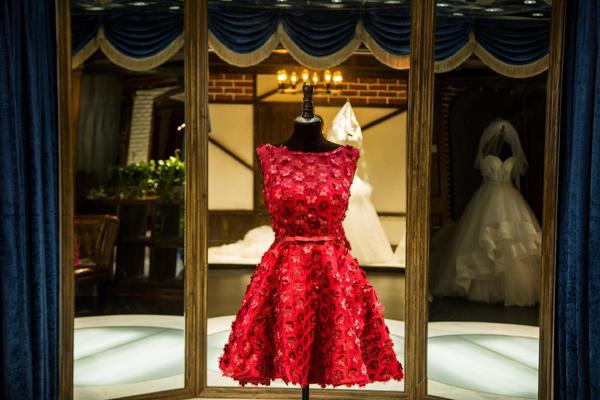 品位婚纱——小礼服系列