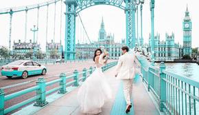 原创网红仙女桥 专属蓝色浪漫风暴