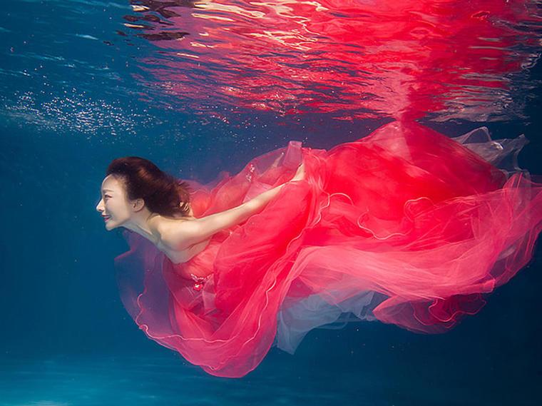 [韩国伊诺]梦幻水下婚纱摄影
