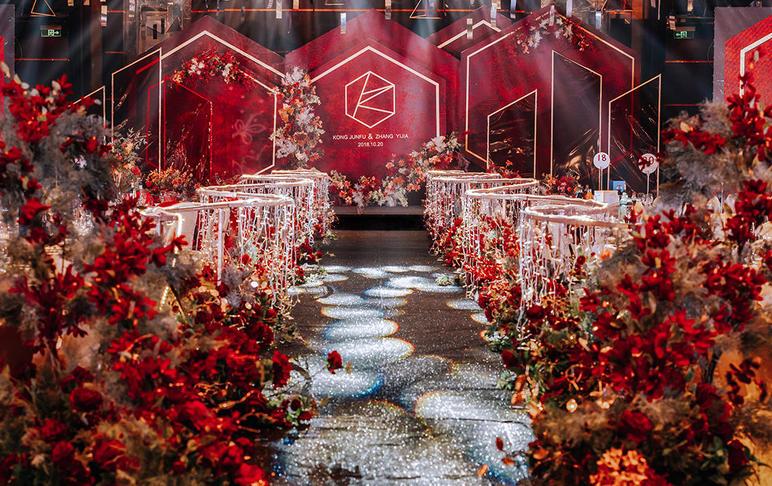 【美人鱼婚礼】香格里拉·红金经典热卖套系