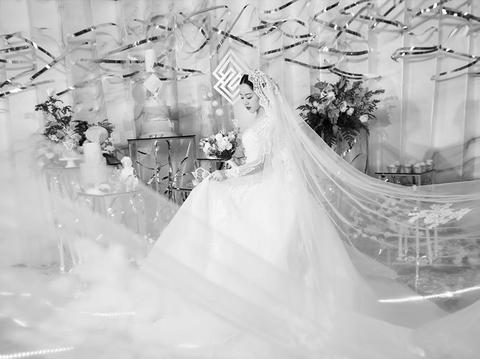 大伟婚礼——性冷淡灰色几何《Infinite》