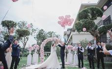 「念和」粉色派对 小型户外婚礼
