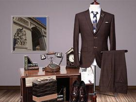 格纹|经典男士婚纱礼服