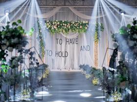 组工大厦北欧风轻森系主题婚礼