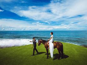 美丽海湾多主题蜜月旅拍婚纱照套系