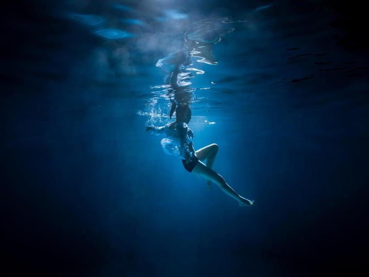 摄影高端 水下摄影 个人写真