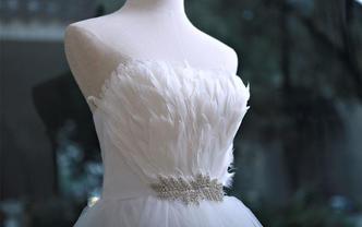 【韩式婚纱超值套餐】新款婚纱+礼服+伴娘服+头纱