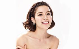 韩式甜美短发新娘妆客片分享二