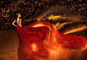 【好评如潮】网红婚纱照 十服十造 加70张精修