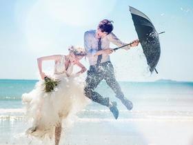 「婚礼纪」专供> 时光海〔超人气〕纯拍婚纱照路线3选1
