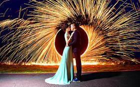 洛可可婚纱摄影——夜景阑珊