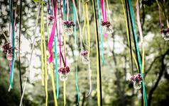 (三只熊花艺)爱在四季——后花园复古主题婚礼