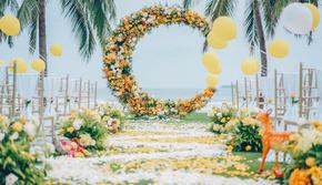 【糖果婚礼】一线海景五星级酒店婚礼套餐