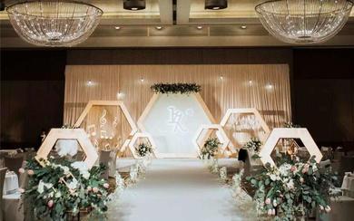 匠心婚礼美学—几何风婚礼《玖》