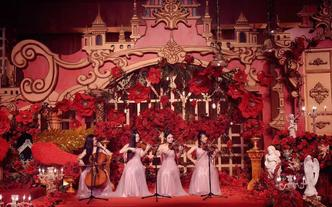 【西洋弦乐四重奏】专业男女青年提琴手精品礼服迎宾