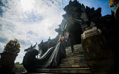 爱旅拍巴厘岛•原创作品•黑塔建筑博物馆