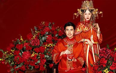 【乐玛摄影】红运中国中式宫廷风 8服8造