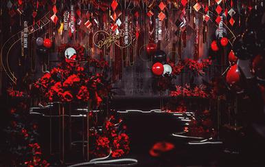 【高端定制】•《魅•逅》红黑撞色