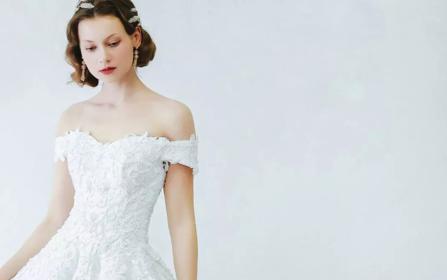 ℳ 艺术系列 若水微香 1件婚纱+1件礼服