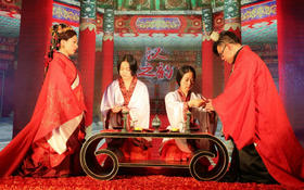 中国古典婚礼 ~新娘跟妆花絮