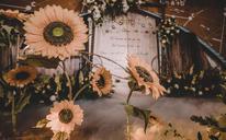 【创意复古主题婚礼】  玖伴之年 太阳写给向日葵的情书