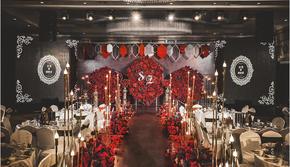『携缘婚礼』♥红色几何简约婚礼