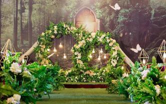 【喜库】麋鹿森林 · 森系 · 绿色系主题婚礼