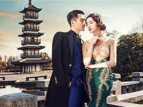 i-D摄影团购 复古婚纱摄影套系9999