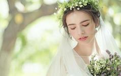 安吉莉娜最浪漫的森系婚纱礼服