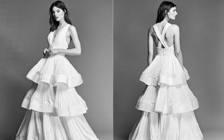 ℳ 经典系列 如故 纯手工定制1件婚纱+2件礼服