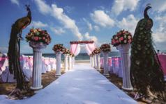 我们爱·因为 神先爱我们-基督教海滩婚礼
