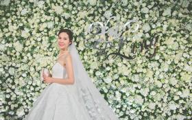 纯白的婚礼,少女的梦。