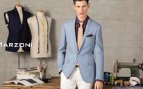 一粒扣戗驳领男士礼服