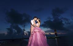 希菲尔婚纱摄影【夕阳西下】